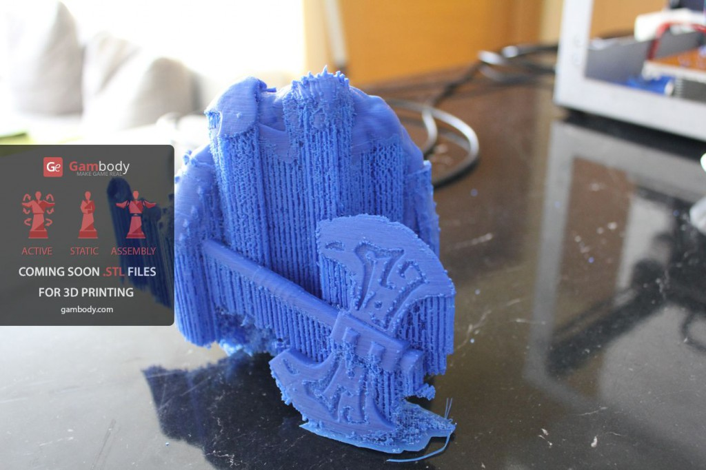 3d printing tips - Axe from gambody