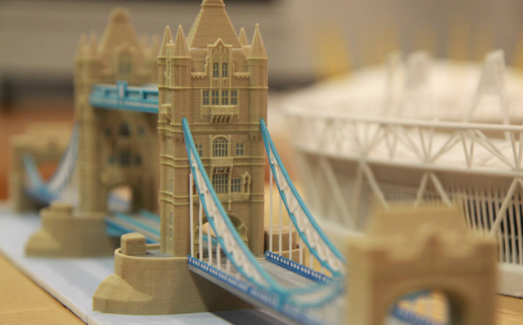 3D Printed London Tower Bridge