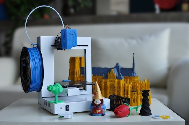 Items printed on a home 3D printer
