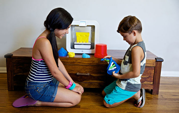 Children and 3D printing