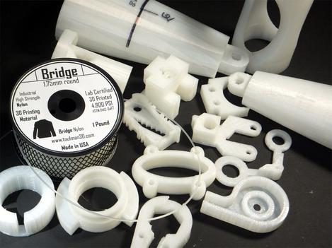 Bridge Nylon 3D Printing Filament