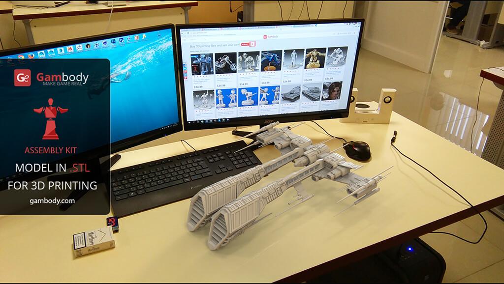 Rifter 3D Model Printer-Ready