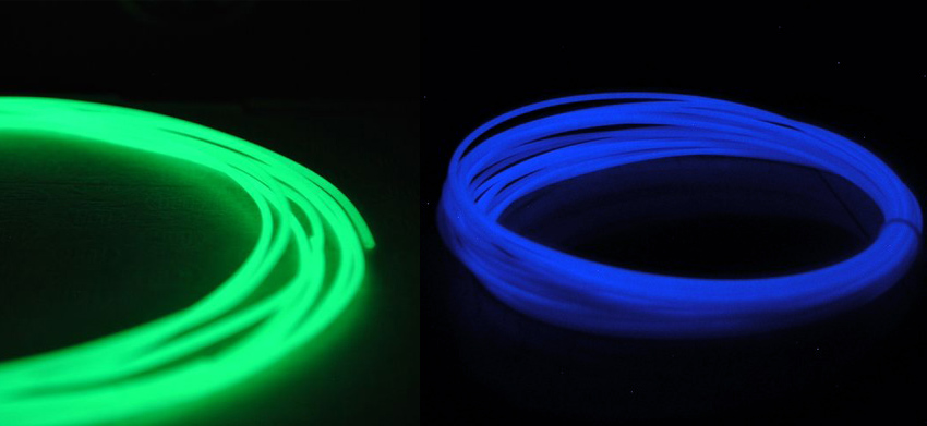 3D Printing ABS Filament: Glow-in-the-Dark
