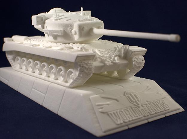 World of Tanks 3D Printed Model.