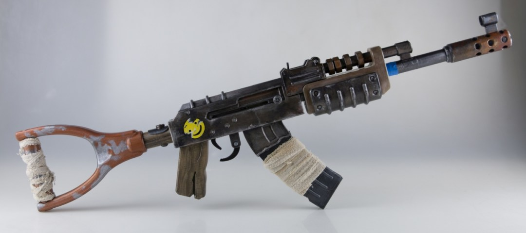 This 3D printed model of AK-47 weapon was received with a lot of enthusiasm