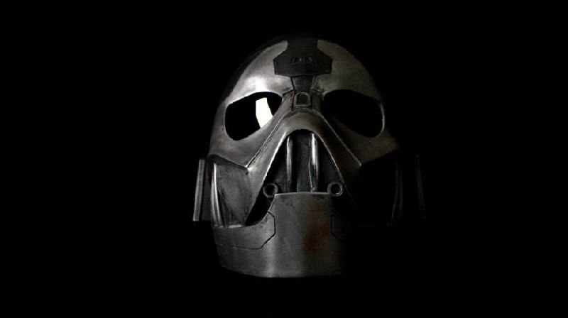 Get to the dark side of Sith with this incredible helmet designed for 3D printing