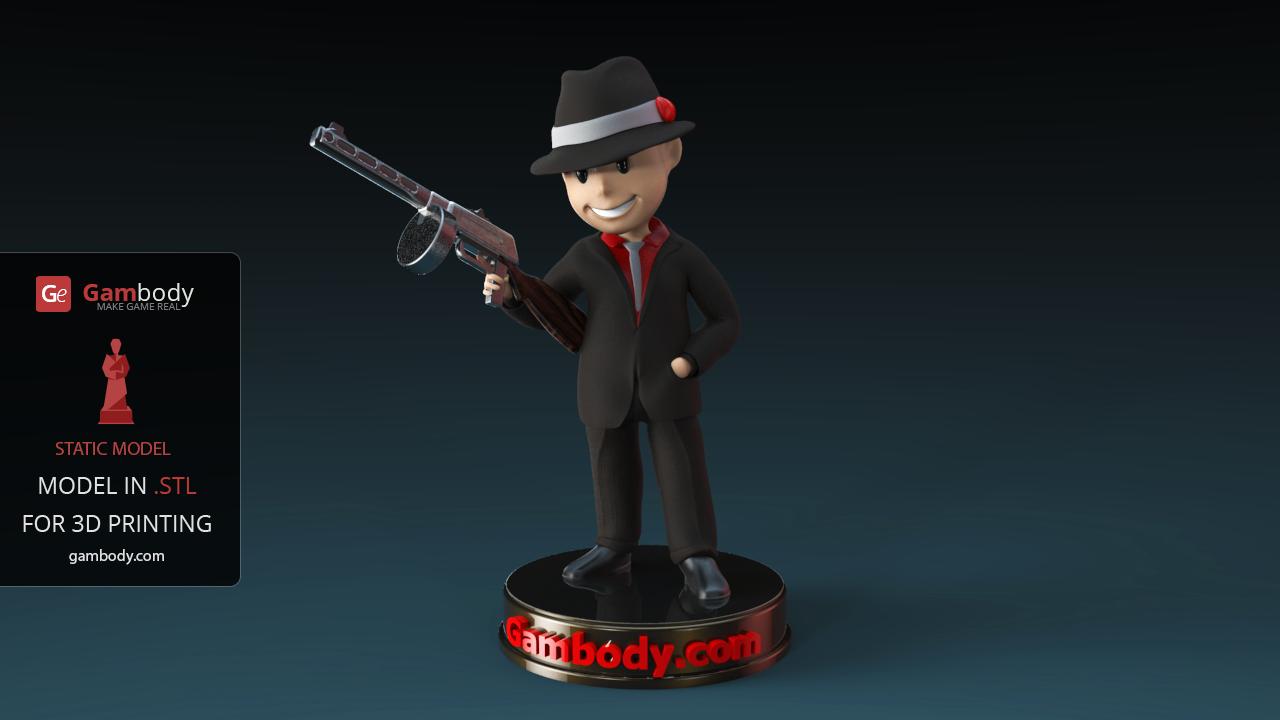 Simplify3D setting Vault Boy 3D Model