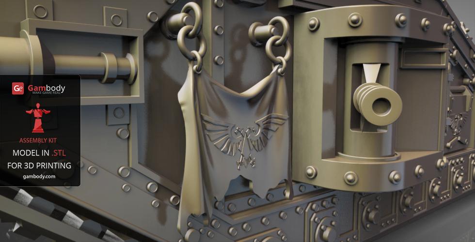 Malcador Warhammer close-up