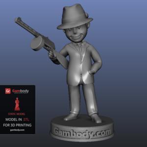 Simply3D configuration Vault Boy Model.