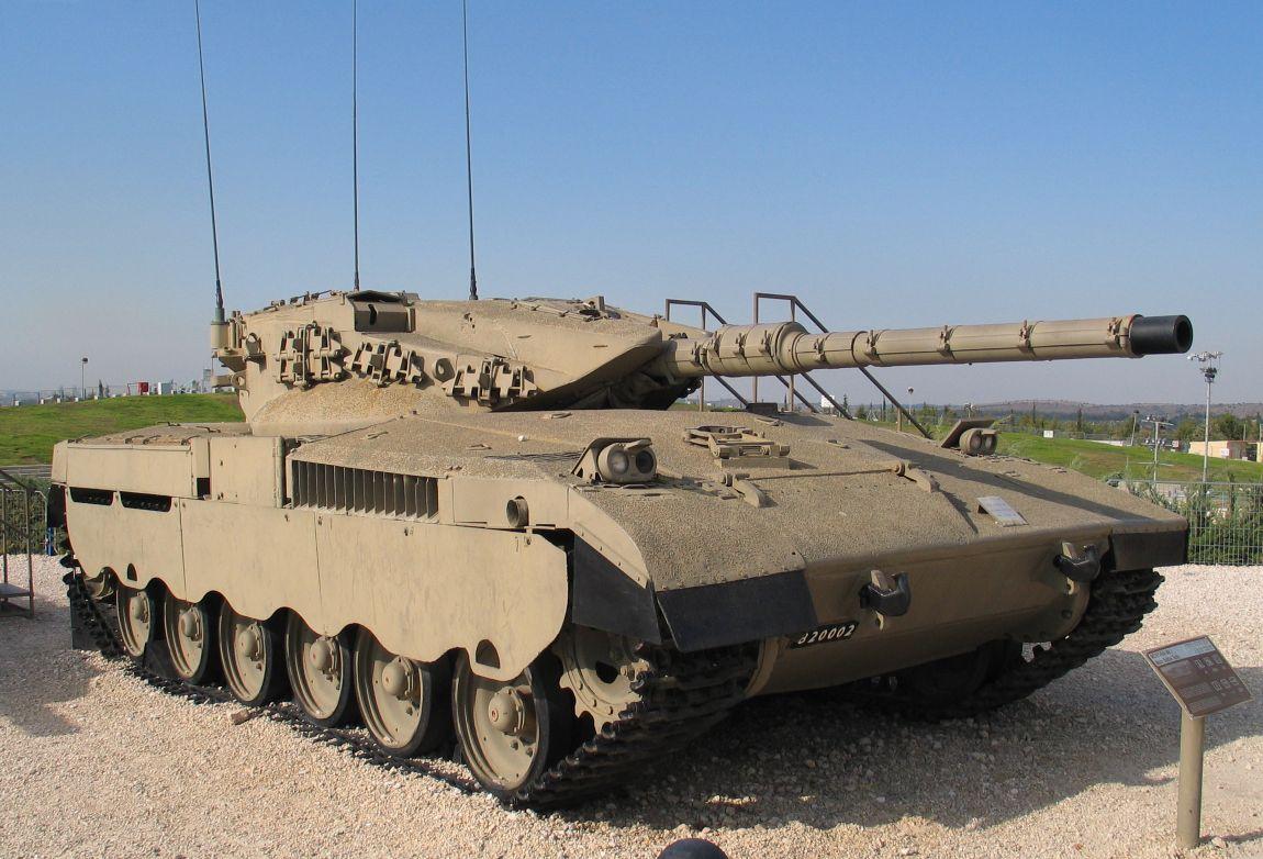 Merkava original tank.