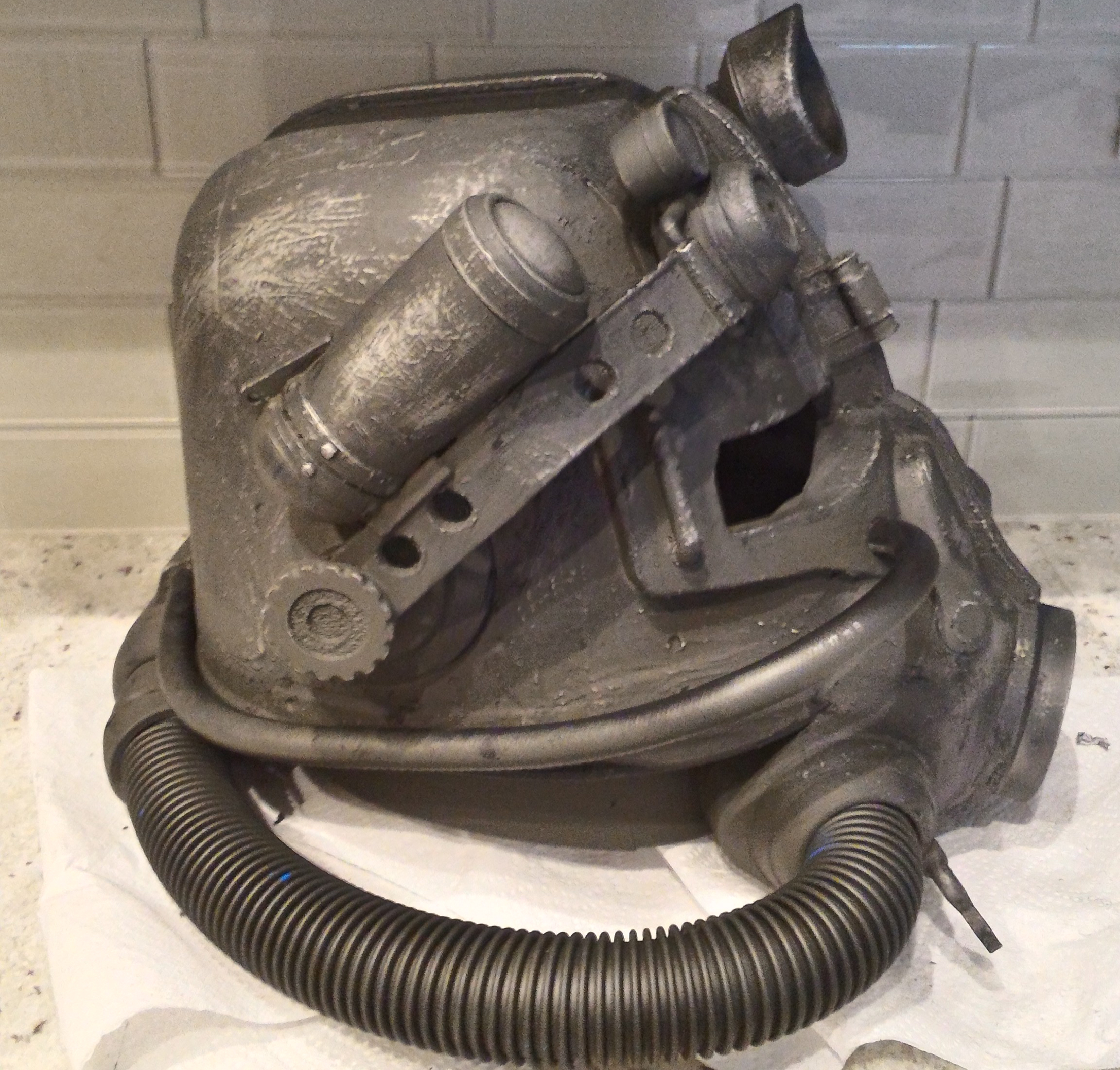 3D-Printed-T-45 power armor helmet