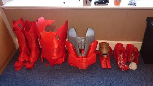 Iron Man 3D printed costume for cosplay