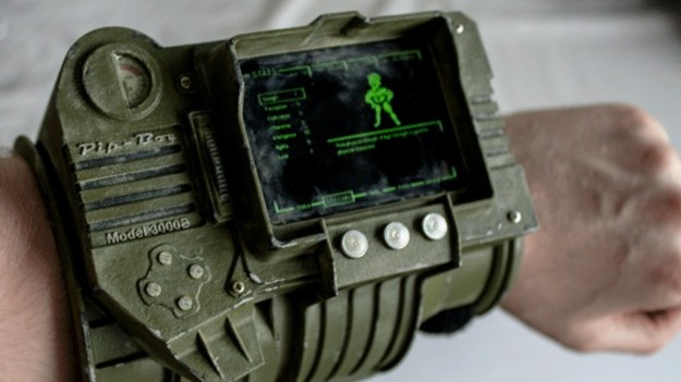 Fallout inspired pipboy 3D printed