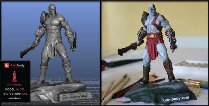 3D Print a Custom-Made or Buy a Regular Figurine?
