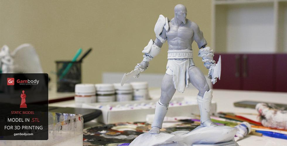 God of war 3D print model