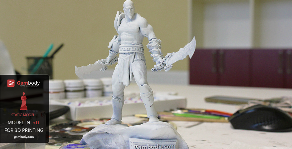 Printing files of Kratos from God of War