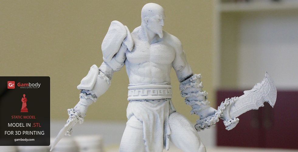 STL files of Kratos from God of War