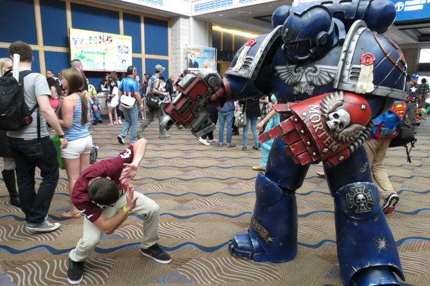 Cosplay 3D printing warhammer