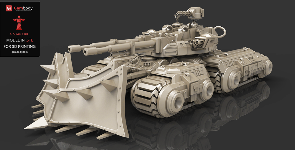 c&c mammoth tank for 3d printing