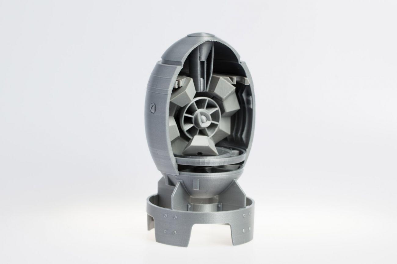 Fallout mini-nuke 3D print