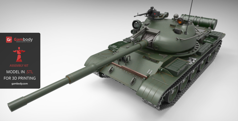 T-62 for 3D printing