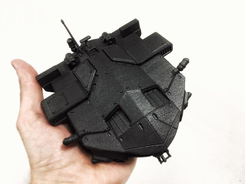 King Crab 3D printed model