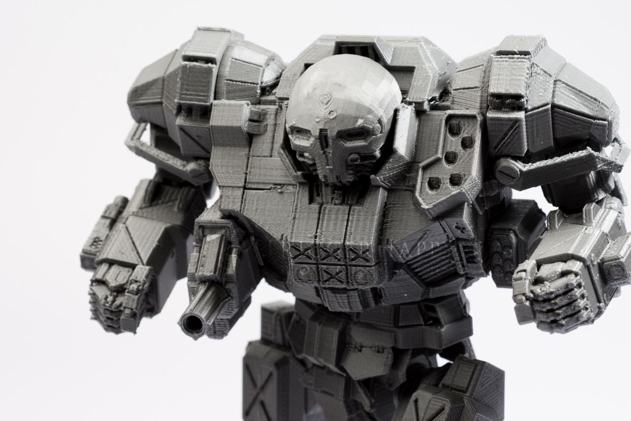 Atlas 3D model from MechWarrior Online video game