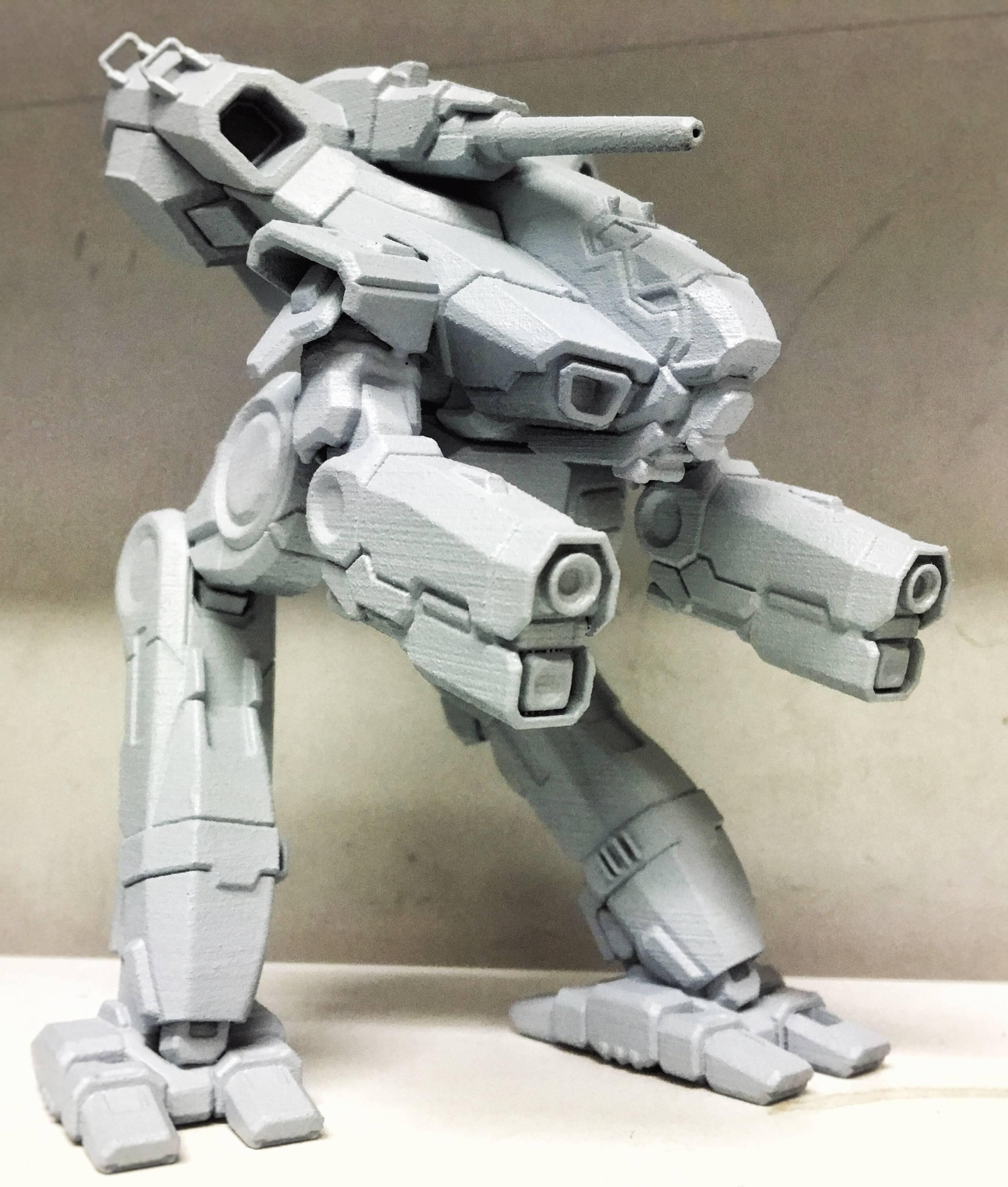 Top 10 MechWarrior 3D Printed Figurines
