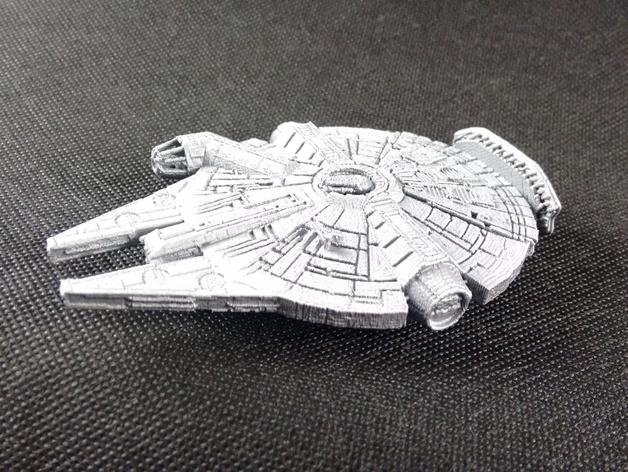 Star Wars-inspired fillenium malcon aluminium thingiverse