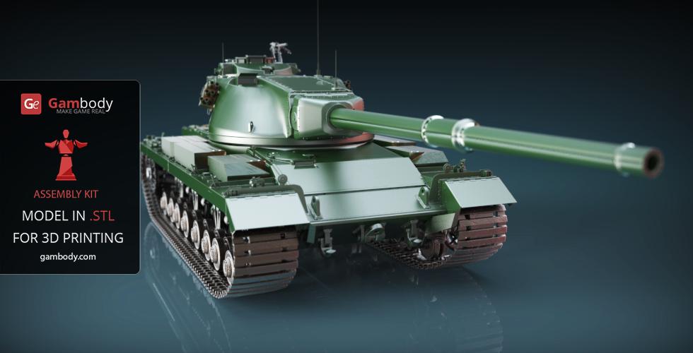 conqueror tank 3d model