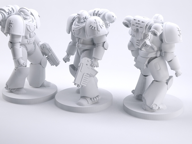 spacemarine warhammer 40k 3d printing files