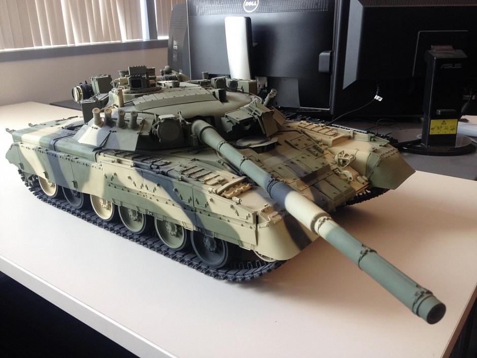 t-80 soviet tank 3d model