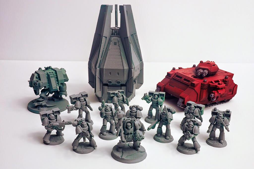 Warhammer 3D printed army