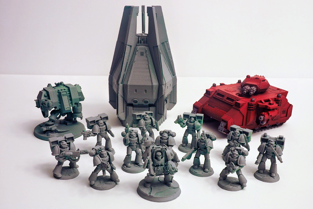 Top 10 warhammer 40k 3d printing files gambody 3d for Decor 40k