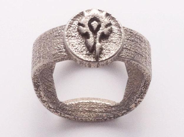 Horde Insignia 3D printed ring