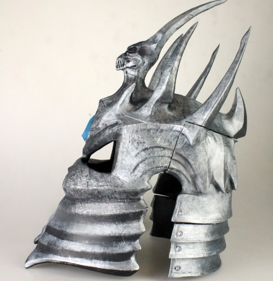 World of Warcraft cosplay prop - King Lich helmet 3d printed