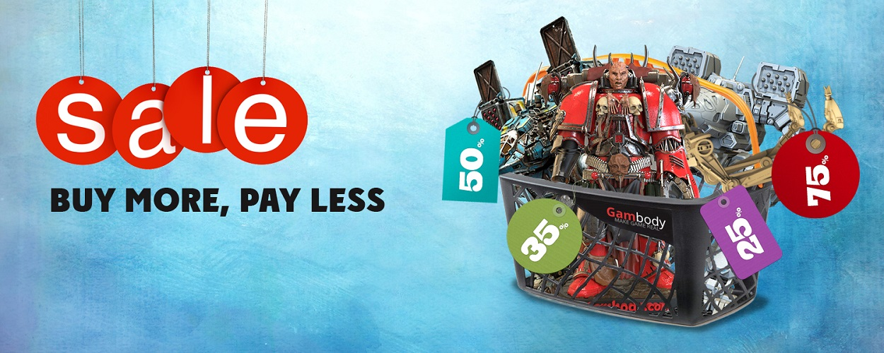 The More You Buy, The Less You Pay – Press Release by Gambody
