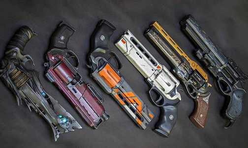 Top 10 3D Printed Video Game Guns