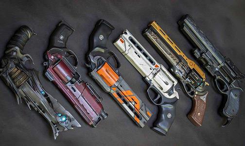 Top 10 3D Printed Video Game Guns