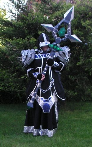 anathema cosplay staff from world of warcraft