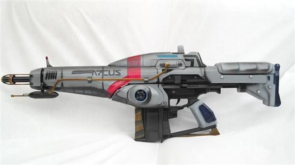 Painted Arcus Rifle 3D printed