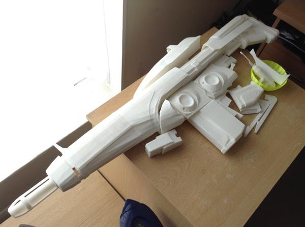 Arcus Rifle 3D printed video game guns