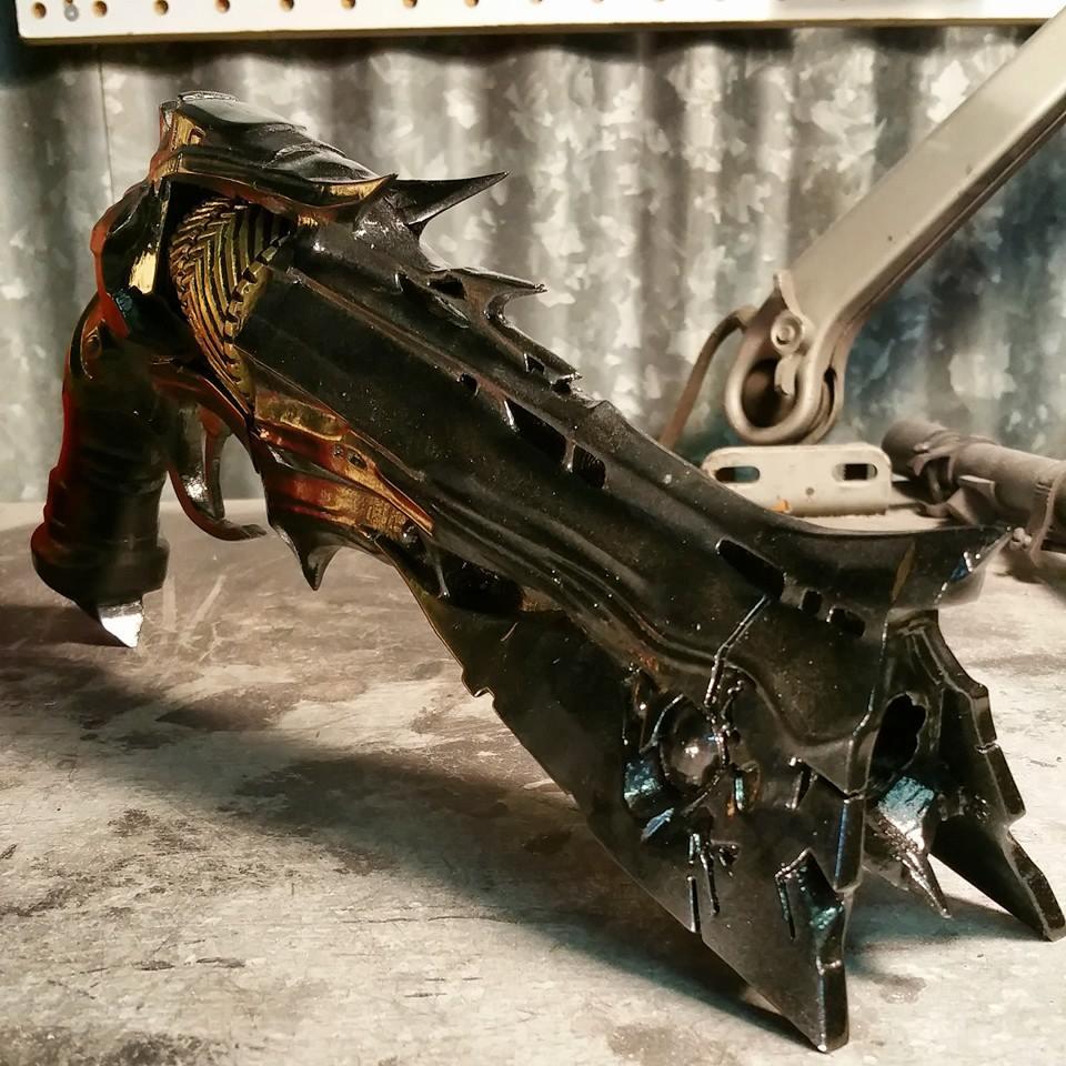 3D video game guns - Thorn gun