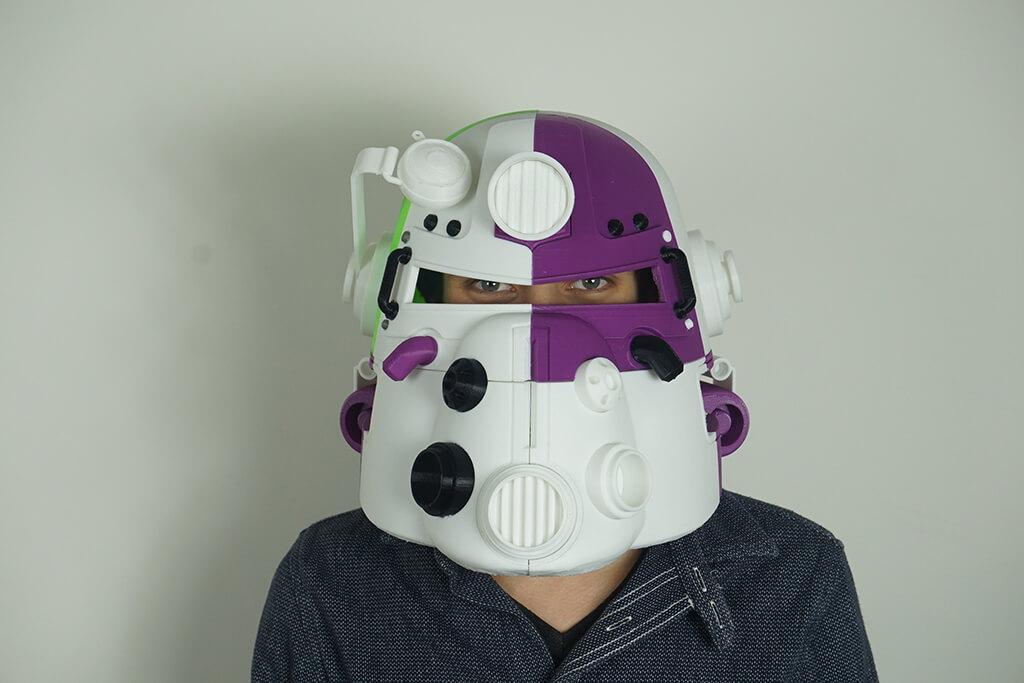 Fallout 3 3D printed helmet