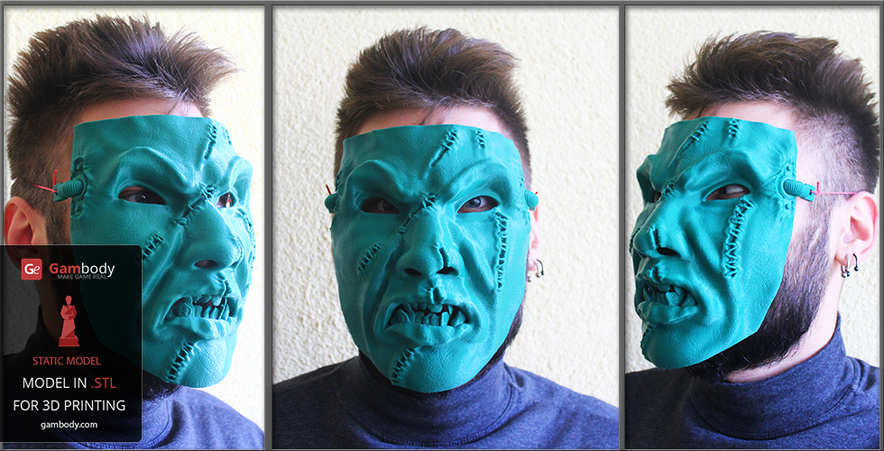 Put Your 3D Printed Mask On and Go Trick-or-Treating