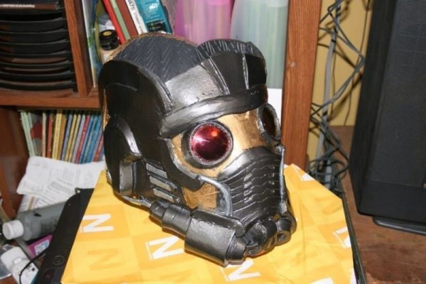 Star-Lord 3D Printed Helmet for Cosplay