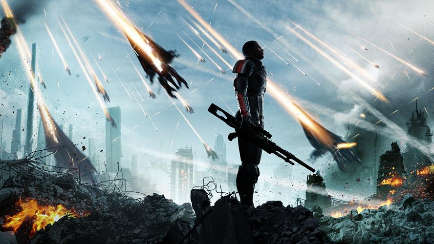 14 Mass Effect 3D Models