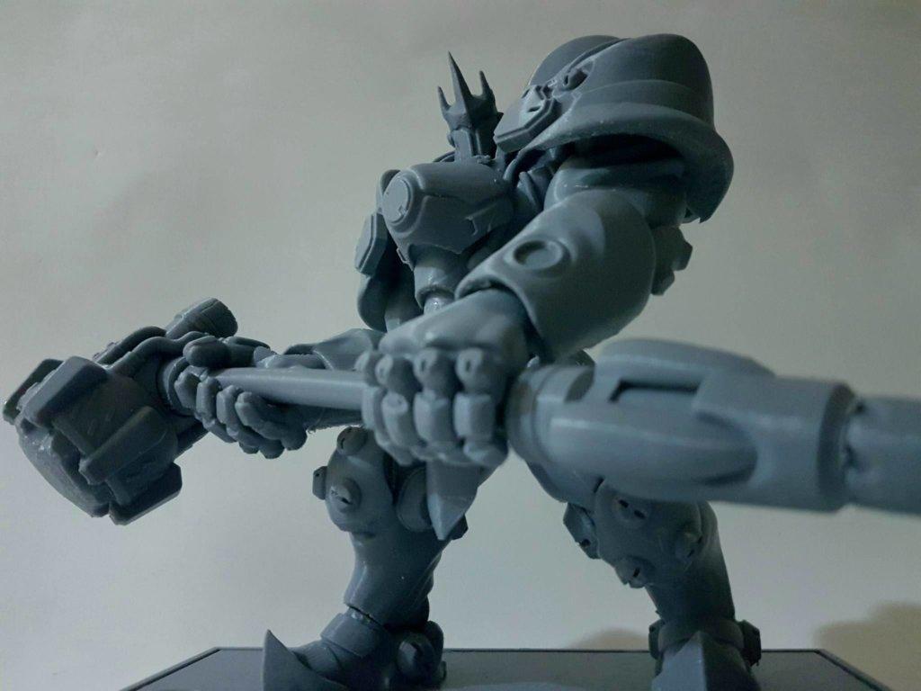 3D printed Overwatch Reinhardt