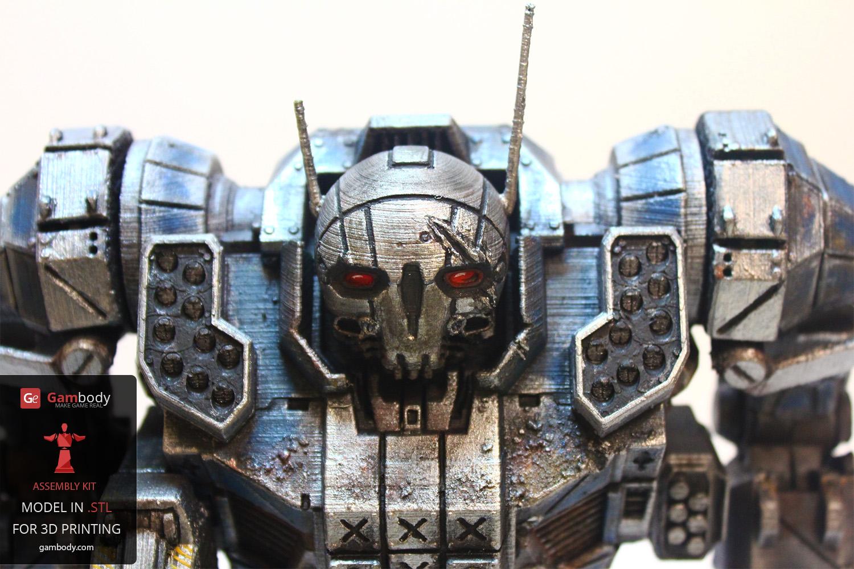 Top 10 Mechwarrior 3d Printed Figurines Gambody 3d