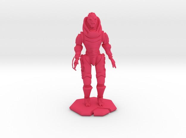 3D Printed Garrus Figurine - Mass Effect 3D models